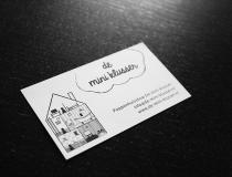 De mini klusser business card